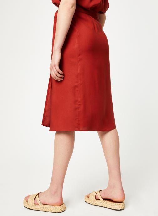 Vêtements Marie Sixtine SKIRT NINA Rouge vue détail/paire
