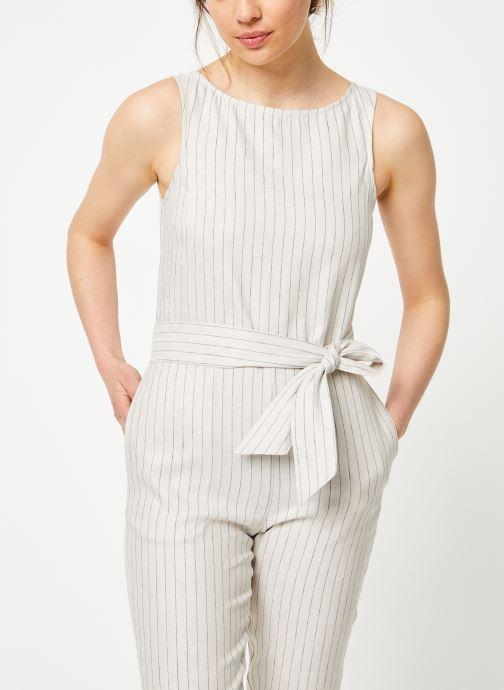 Vêtements Marie Sixtine JUMPSUIT LELIO Beige vue droite