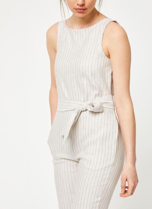 Vêtements Marie Sixtine JUMPSUIT LELIO Beige vue détail/paire