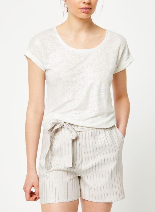 Vêtements Marie Sixtine TSHIRT ANGELA Blanc vue face
