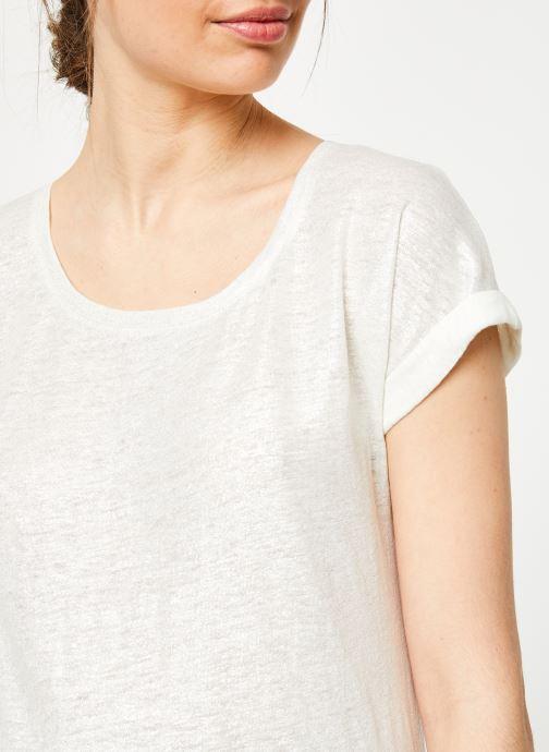 Vêtements Marie Sixtine TSHIRT ANGELA Blanc vue droite