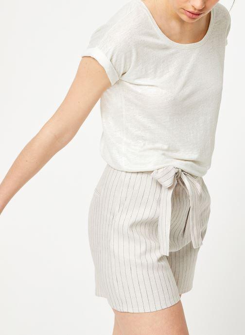 Vêtements Marie Sixtine TSHIRT ANGELA Blanc vue détail/paire