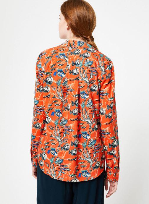 Vêtements Marie Sixtine SHIRT ANITA Orange vue portées chaussures