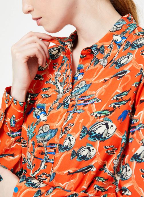Vêtements Marie Sixtine SHIRT ANITA Orange vue face