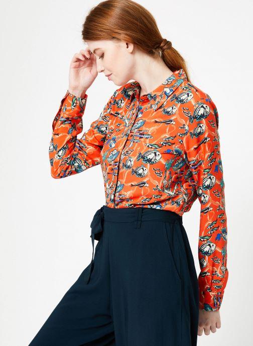 Vêtements Marie Sixtine SHIRT ANITA Orange vue droite