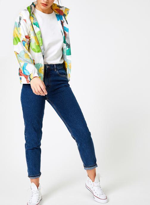 Vêtements K-Way  ARLETTE LIGHT SHIRT GRAPH Multicolore vue bas / vue portée sac