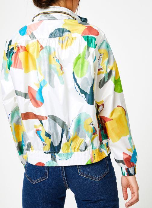 Vêtements K-Way  ARLETTE LIGHT SHIRT GRAPH Multicolore vue portées chaussures