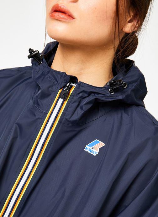 Vêtements K-Way  LE VRAI 3.0 MORGAN Bleu vue face