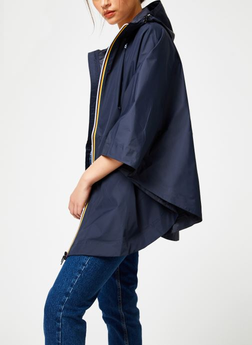 Vêtements K-Way  LE VRAI 3.0 MORGAN Bleu vue droite