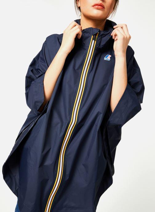 Vêtements K-Way  LE VRAI 3.0 MORGAN Bleu vue détail/paire