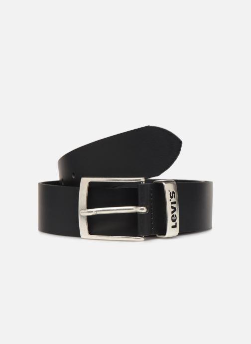 Cinturones Levi's New Ashland Negro vista de detalle / par