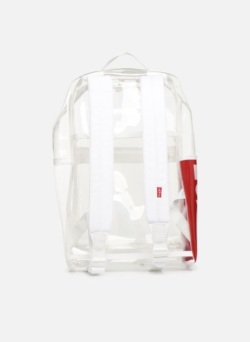 Sacs à dos Levi's The Levi's L Pack Mini Clear Blanc vue face