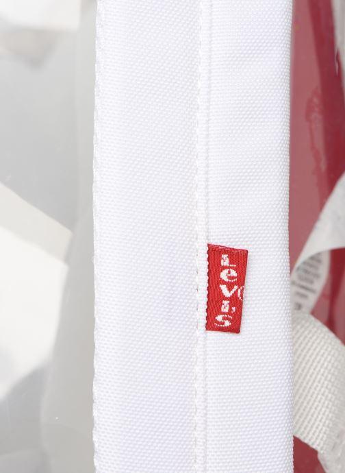 Sacs à dos Levi's The Levi's L Pack Mini Clear Blanc vue gauche