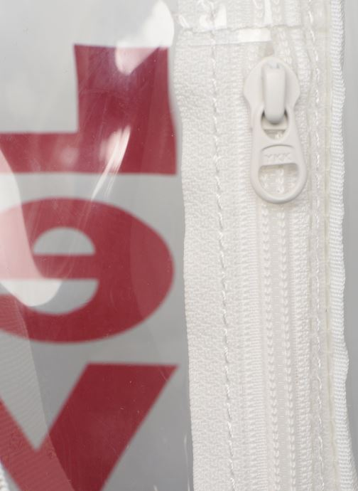 Petite Maroquinerie Levi's Banana Sling Clear Blanc vue gauche