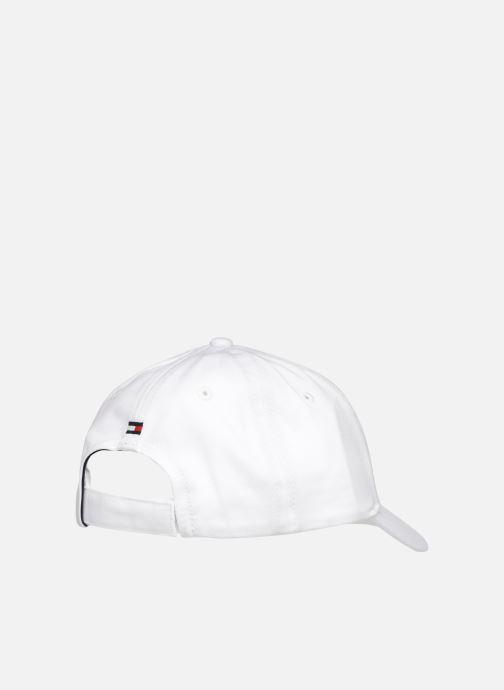 Kappe Tommy Hilfiger Collège weiß schuhe getragen