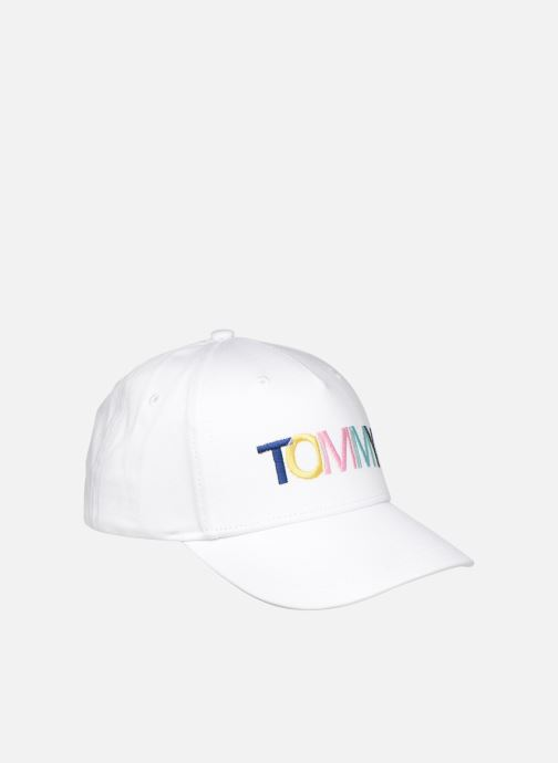 Cap Tommy Hilfiger Collège White front view