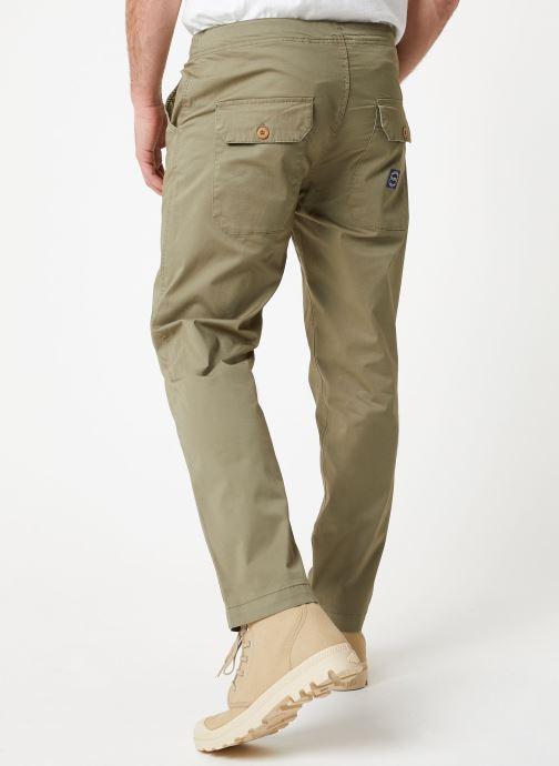 Vêtements Kiliwatch PTL-BIEVER Vert vue portées chaussures