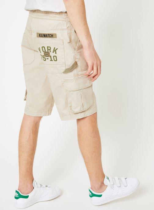 Vêtements Kiliwatch SH-TANCOQ Beige vue portées chaussures