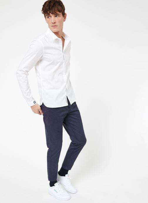 Vêtements Kiliwatch C-GAETAN ML Blanc vue bas / vue portée sac