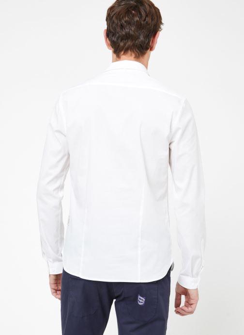 Vêtements Kiliwatch C-GAETAN ML Blanc vue portées chaussures