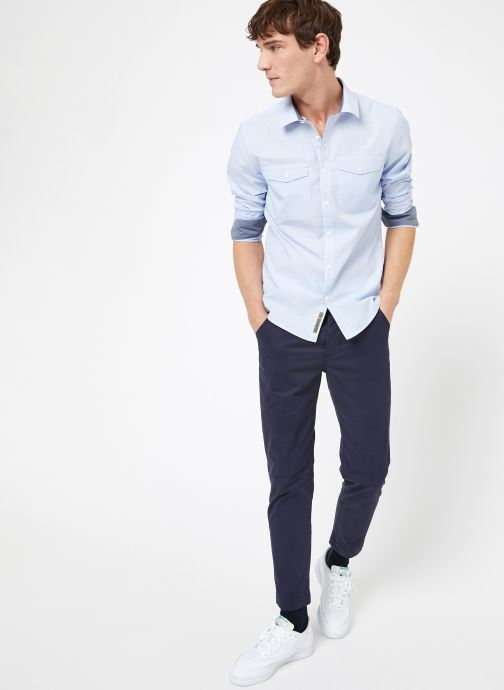 Vêtements Kiliwatch C-BAYONG ML Bleu vue bas / vue portée sac