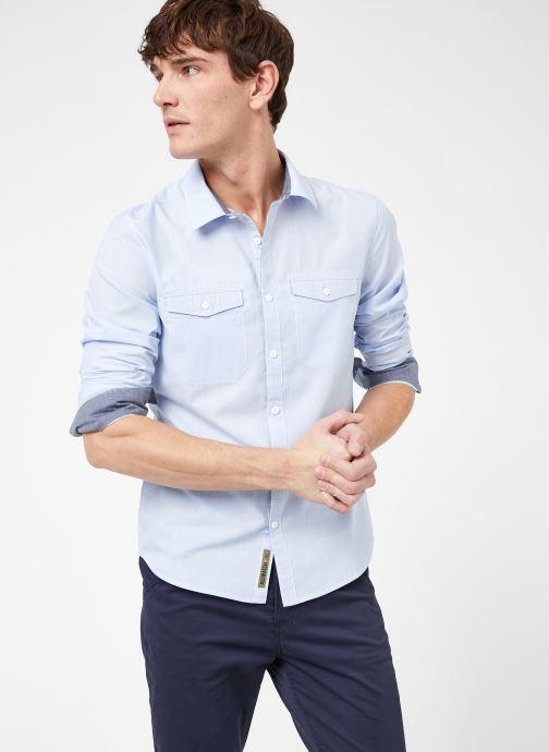Vêtements Kiliwatch C-BAYONG ML Bleu vue droite