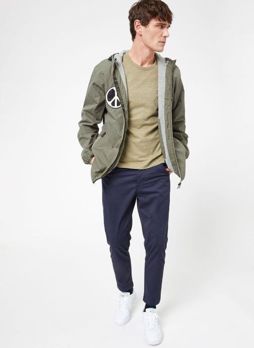 Vêtements Kiliwatch T-GEARSTICK MC Beige vue bas / vue portée sac