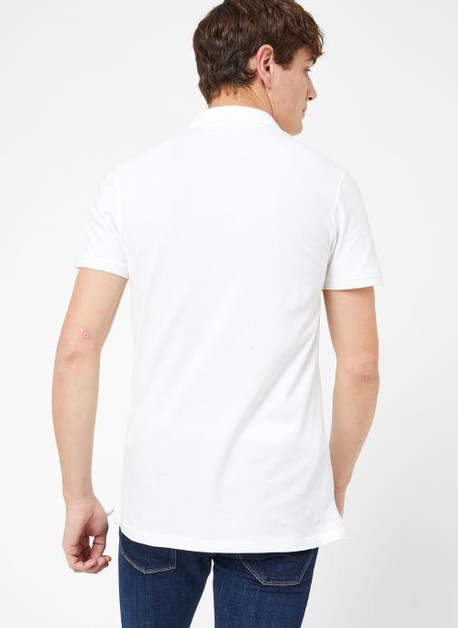 Vêtements Kiliwatch PL-WEYBURN MC Blanc vue portées chaussures