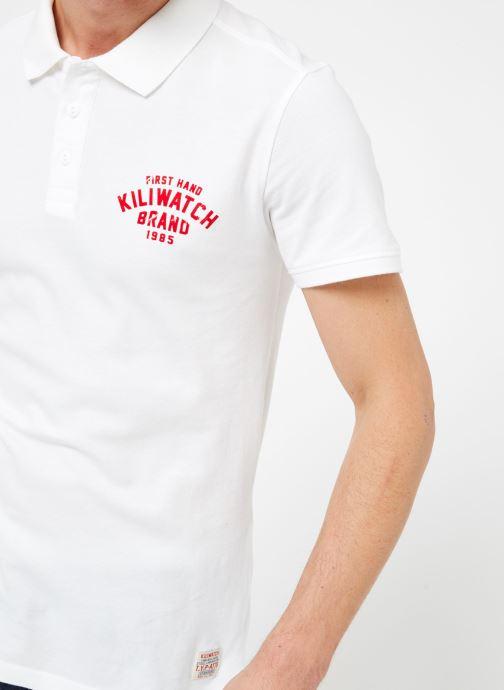 Vêtements Kiliwatch PL-WEYBURN MC Blanc vue face