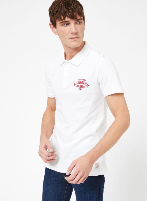 Vêtements Kiliwatch PL-WEYBURN MC Blanc vue droite