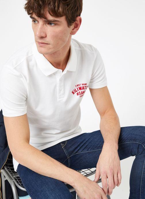 Vêtements Kiliwatch PL-WEYBURN MC Blanc vue détail/paire