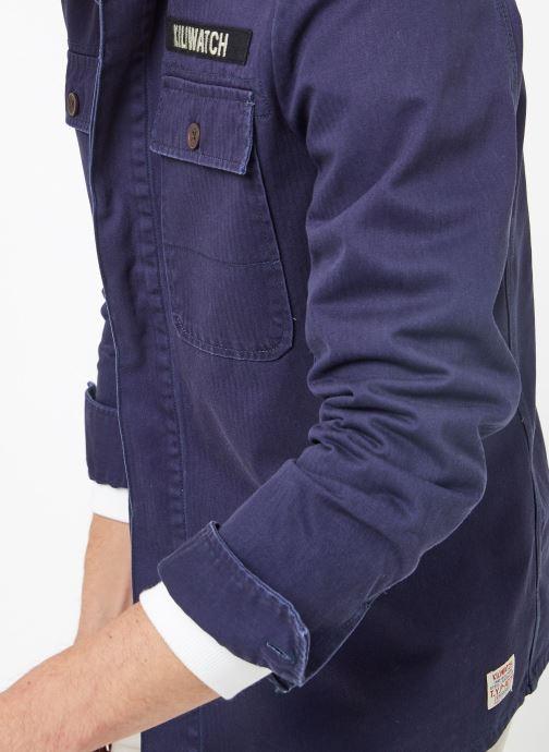 Vêtements Kiliwatch V-HANDBRAKE Bleu vue face