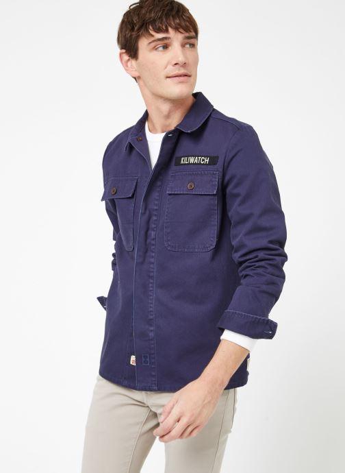 Vêtements Kiliwatch V-HANDBRAKE Bleu vue droite