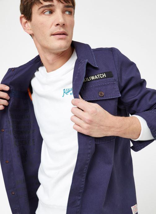 Vêtements Kiliwatch V-HANDBRAKE Bleu vue détail/paire