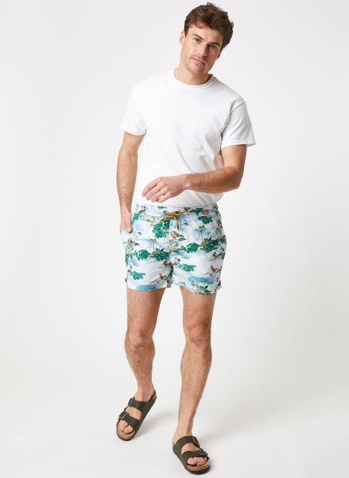 Vêtements K-Way  HAZEL GRAPHIC Multicolore vue bas / vue portée sac