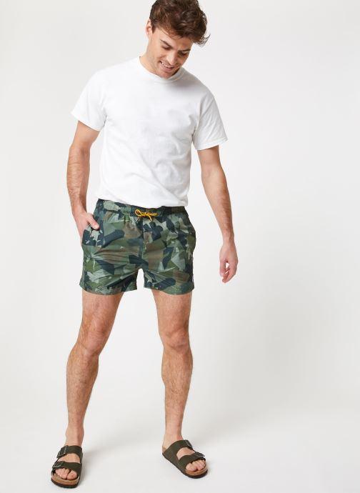 Vêtements K-Way  HAZEL GRAPHIC Vert vue bas / vue portée sac