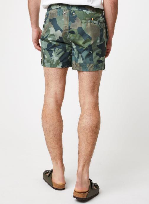 Vêtements K-Way  HAZEL GRAPHIC Vert vue portées chaussures
