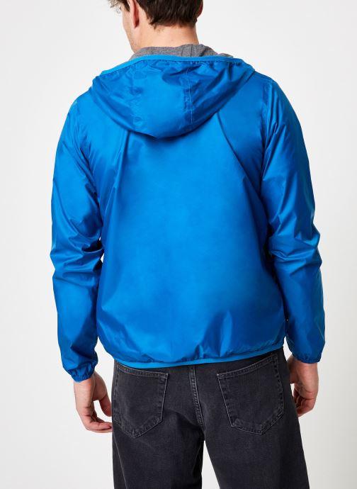 Vêtements K-Way  JACQUES NYLON JERSEY Bleu vue portées chaussures