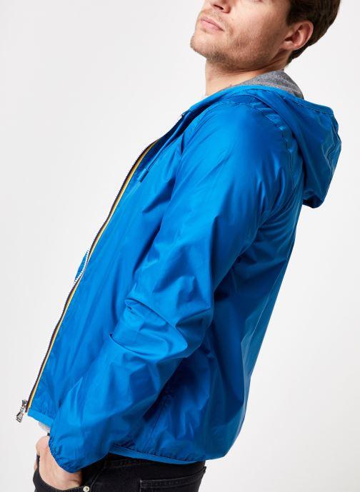 Vêtements K-Way  JACQUES NYLON JERSEY Bleu vue droite