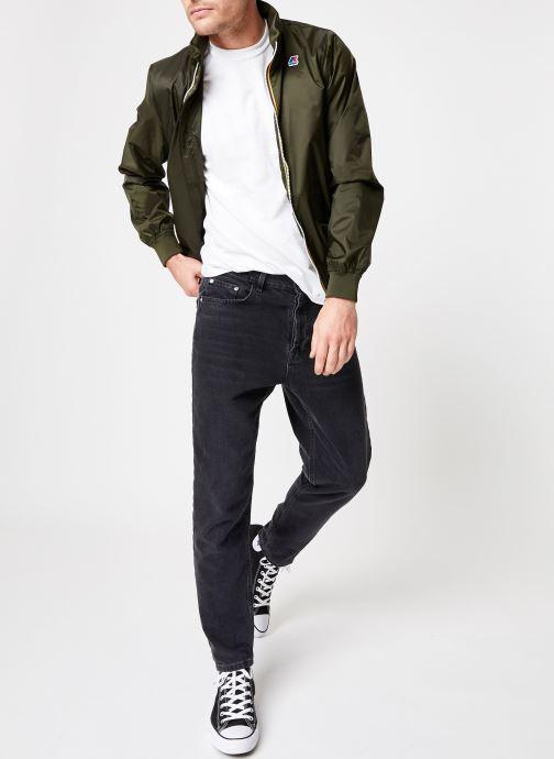 Vêtements K-Way  AMAURY NYLON JERSEY Vert vue bas / vue portée sac