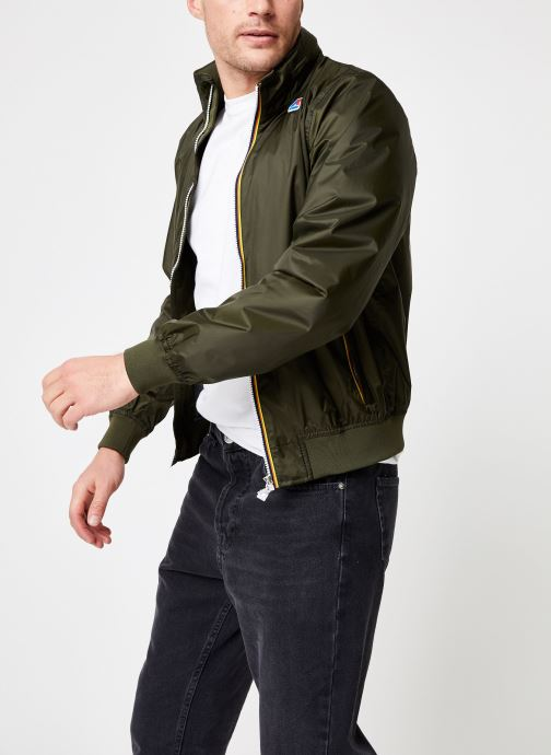 Vêtements K-Way  AMAURY NYLON JERSEY Vert vue droite