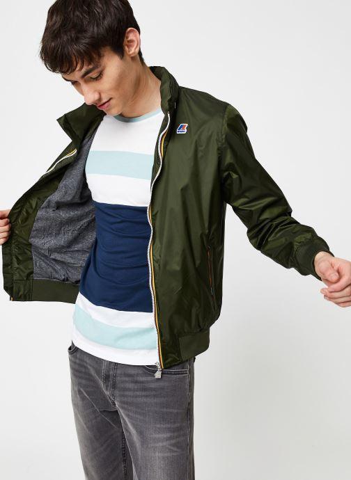 Vêtements K-Way  AMAURY NYLON JERSEY Vert vue détail/paire