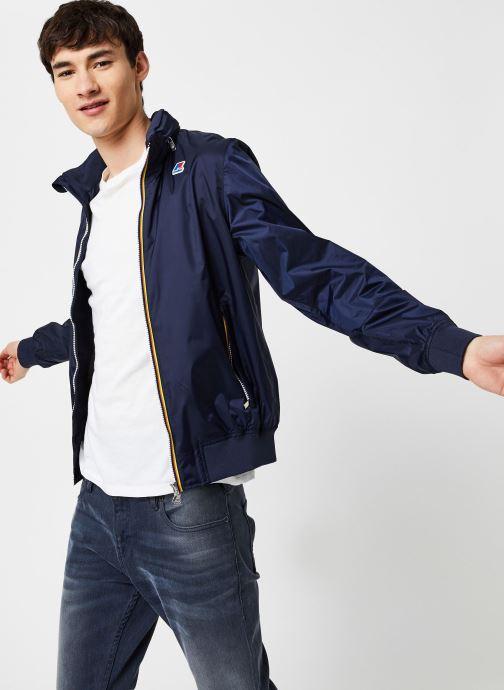 Vêtements K-Way  AMAURY NYLON JERSEY Bleu vue détail/paire