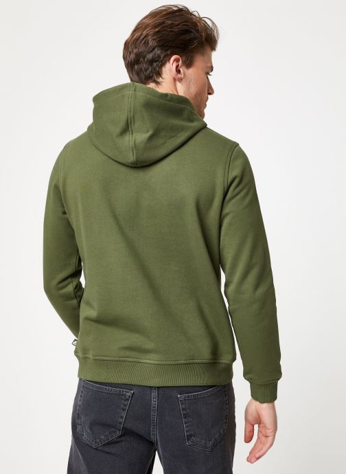 Vêtements K-Way  LUDOVIC FT LOGO SPONGE SWEATSHIRT Vert vue portées chaussures