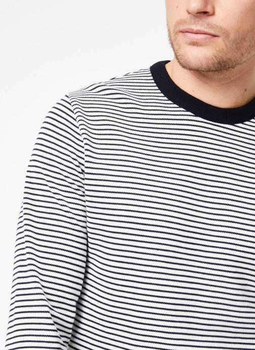 Vêtements Armor Lux Pull Héritage ML Bleu vue face