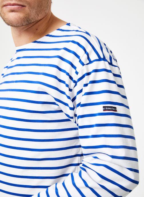 Vêtements Armor Lux Marinière Beg Meil Blanc vue face