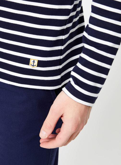 Vêtements Armor Lux Marinière Houat Héritage Bleu vue face