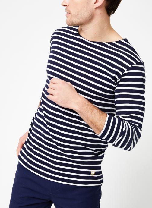 Vêtements Armor Lux Marinière Houat Héritage Bleu vue détail/paire