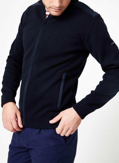 Vêtements Armor Lux Cardigan Carnac Bleu vue détail/paire