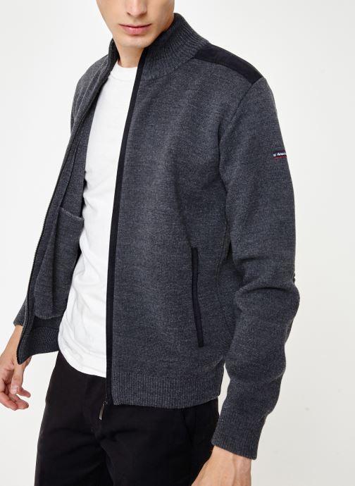 Vêtements Armor Lux Cardigan Carnac Gris vue détail/paire